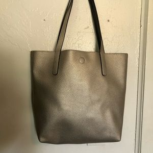 Large Silver Tote